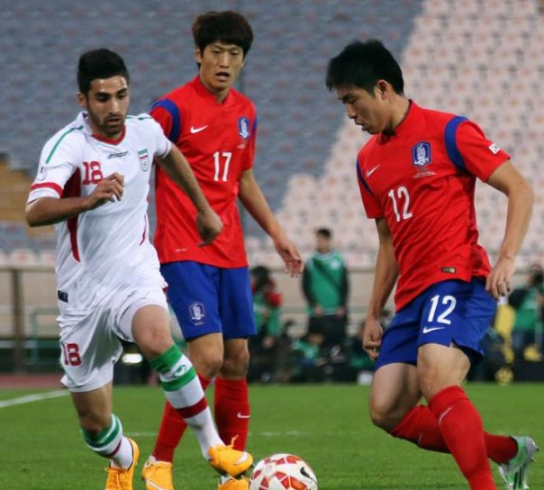 Korea Republic vs Iran