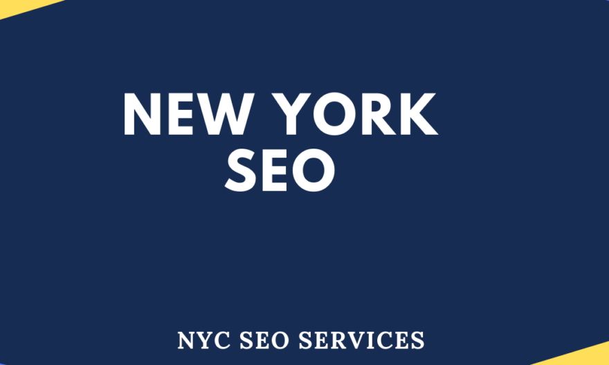SEO SERVICES IN NEW YORK CITY